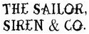 The Sailor, Siren & Co. for lovers of the sea