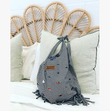 Load image into Gallery viewer, The Stripe Fringe Bag