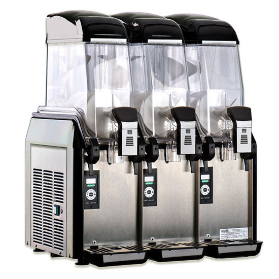 Elmeco First Class 3 Bowl Granita Machine