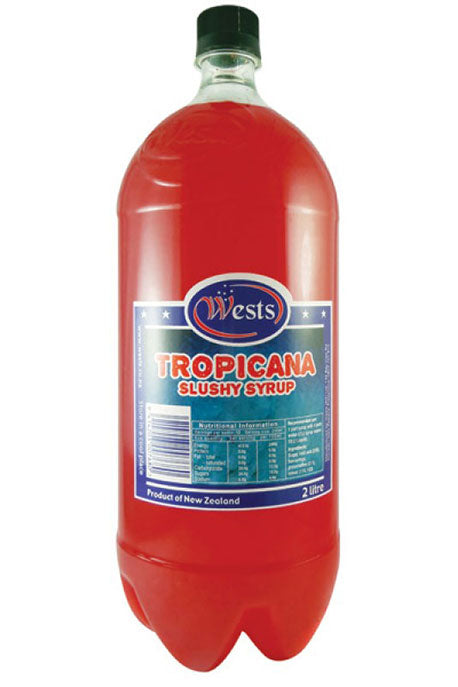 Wests 2lt Slushy Syrup - Tropicana x 6