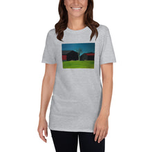 Load image into Gallery viewer, blockdrixng - Old and New - Twin Barns - Unisex Tshirt
