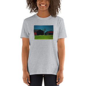 blockdrixng - Old and New - Twin Barns - Unisex Tshirt