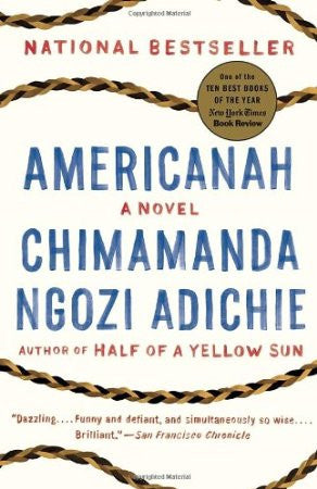 Americanah ---BACK ORDERED---