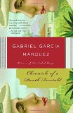 Chronicle of a Death Foretold  By Gabriel García Márquez, Translated By Gregory Rabassa