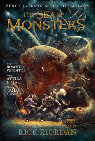 The Sea of Monsters: The Graphic Novel (Percy Jackson and the Olympians: The Graphic Novels #2)