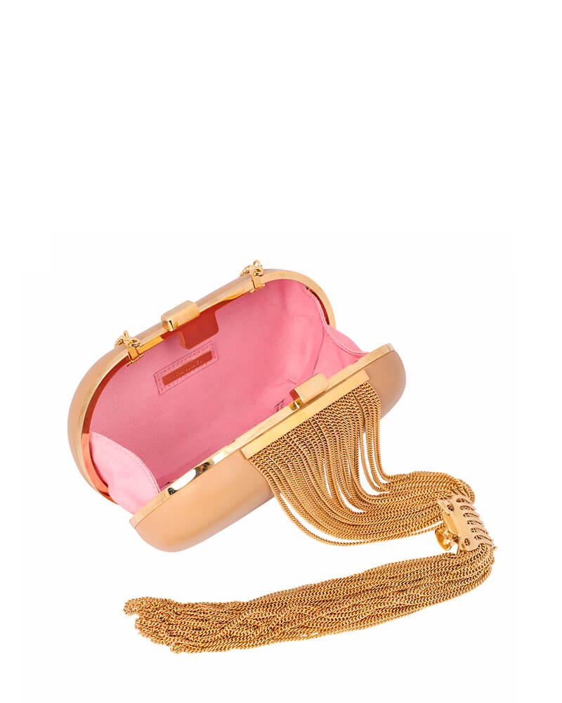 L'alingi London Daria Nude Luxury Clutch
