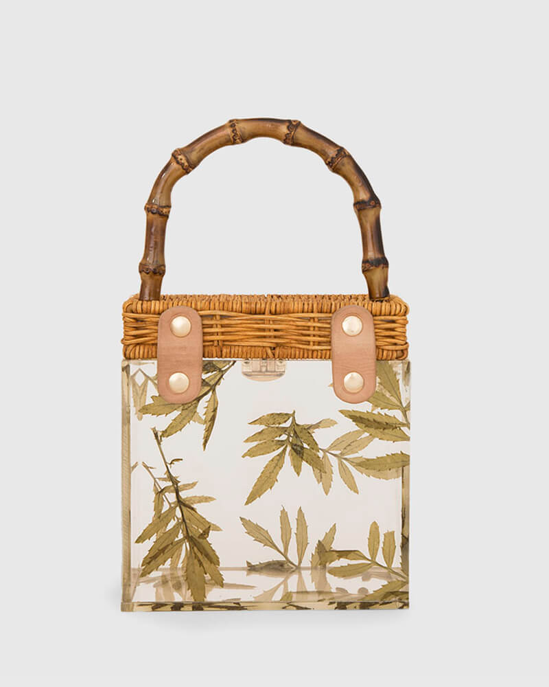 L'alingi London Bamboo Leaves Luxury Bag