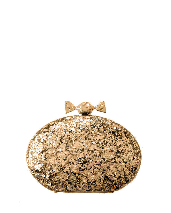 L'alingi London Bonbon Gold Luxury Clutch