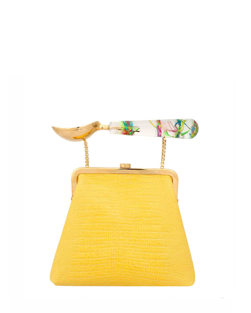 L'alingi London Jasmina Canary Purse Luxury Clutch