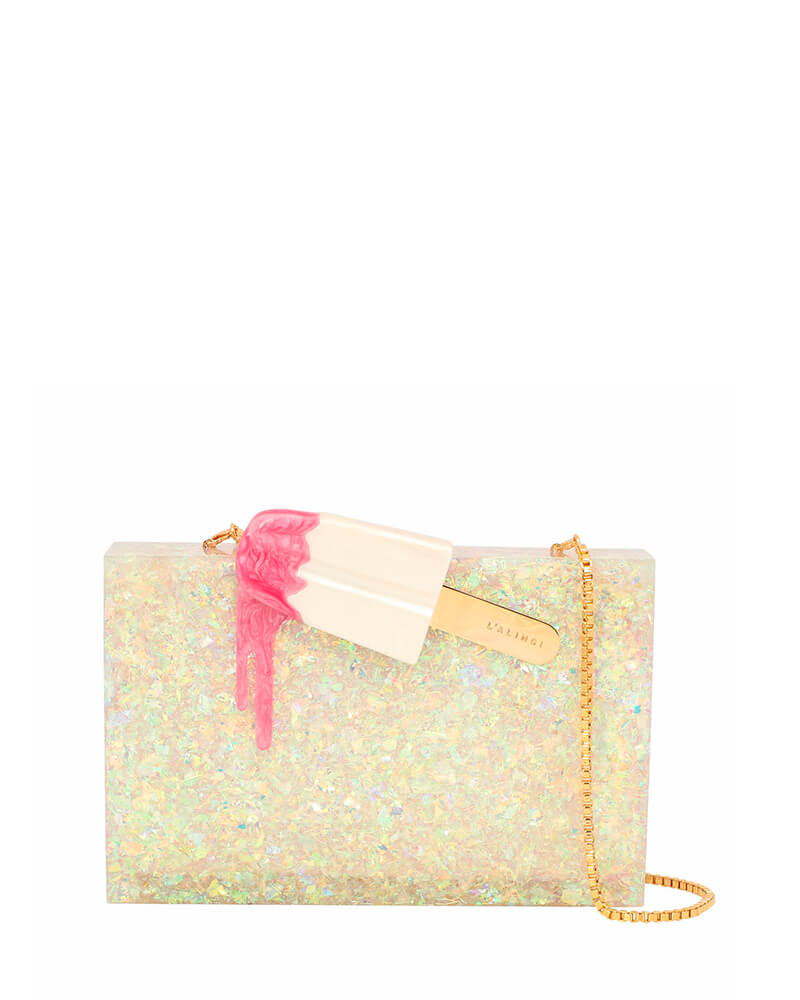 L'alingi London Cindy Hologram Luxury Clutch