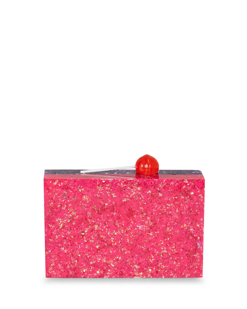 L'alingi London Disco Lolly Luxury Clutch with Swarovski Stones