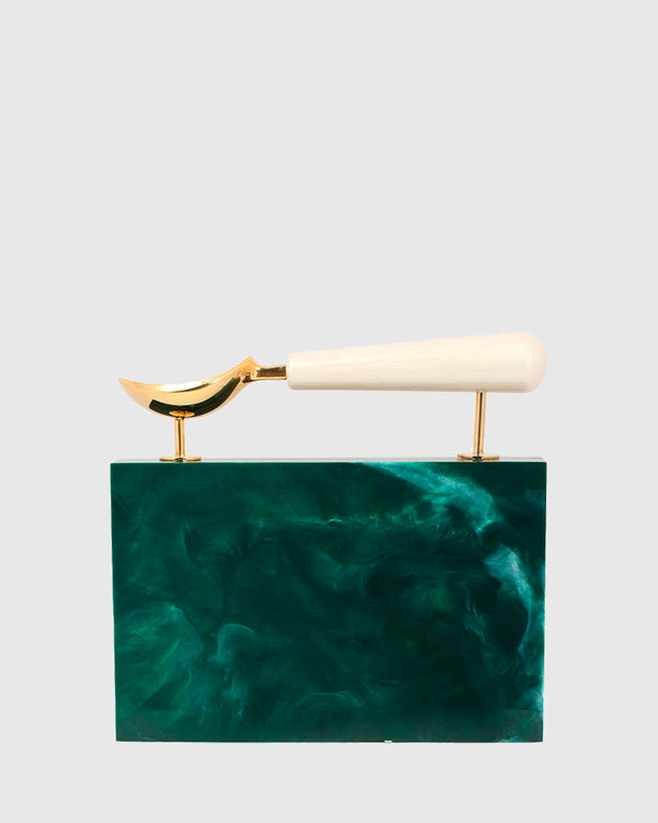 L'alingi London Jasmina Emerald Luxury Clutch