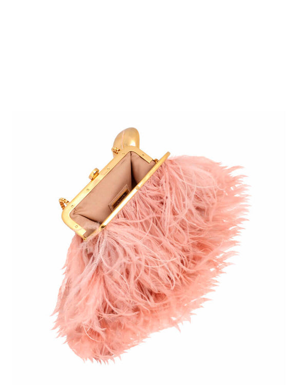 L'alingi London Jasmina Flamingo Luxury Clutch