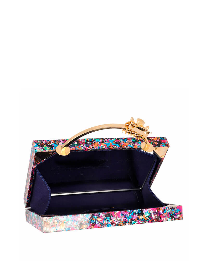 L'alingi London Halana Rainbow Luxury Clutch