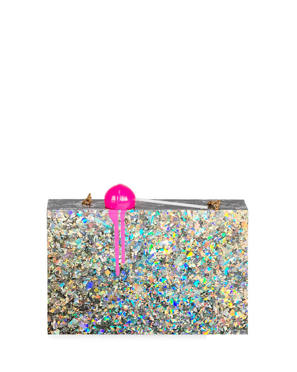 L'alingi London Hologram Lolli Luxury Clutch