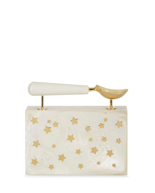L'alingi London Jasmina Pearl Luxury Clutch