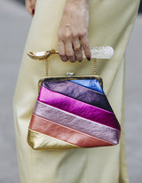 L'alingi London Jasmina Rainbow Purse Luxury Clutch