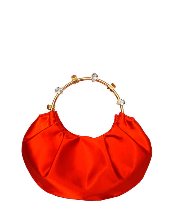 L'alingi London Pouch Orange Luxury Clutch