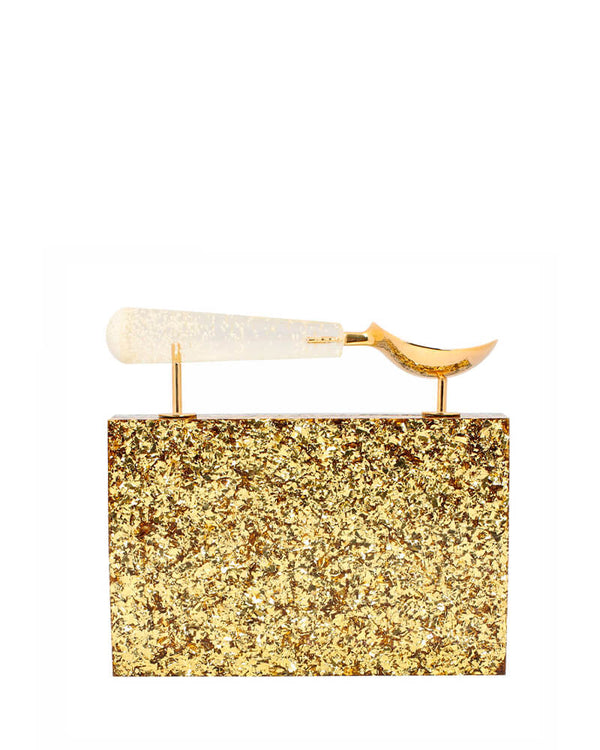 L'alingi London Jasmina Plush Luxury Clutch
