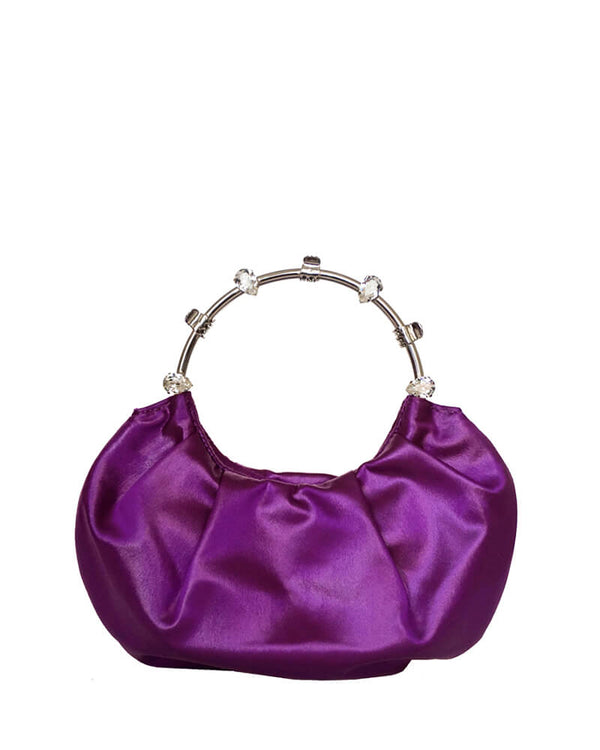 L'alingi London Pouch Purple Luxury Clutch