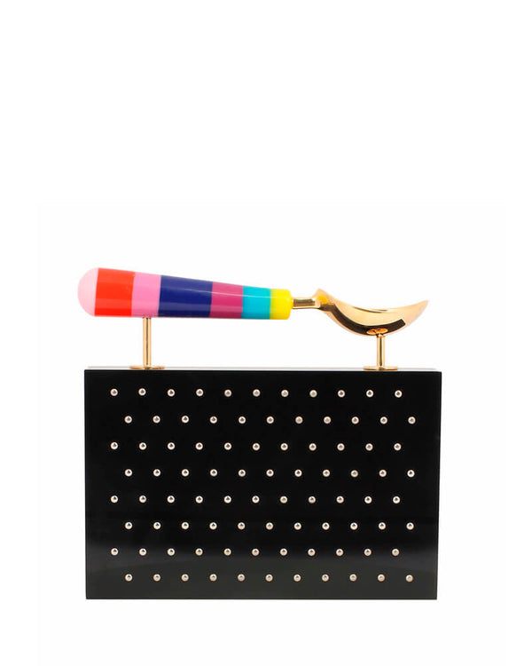 L'alingi London Jasmina Rainbow Luxury Clutch