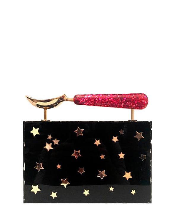L'alingi London Jasmina Stars Luxury Clutch
