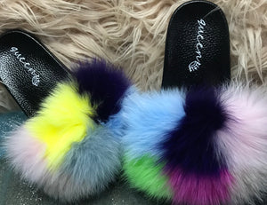 Color Block Fluffies