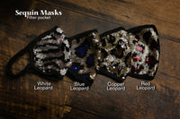Sequin Facemasks
