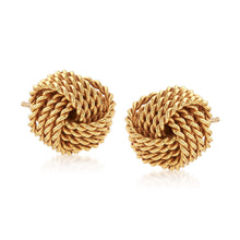 Load image into Gallery viewer, Twist And Shout Knot Earring