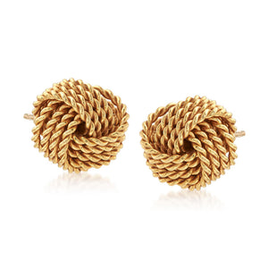 Twist And Shout Knot Earring