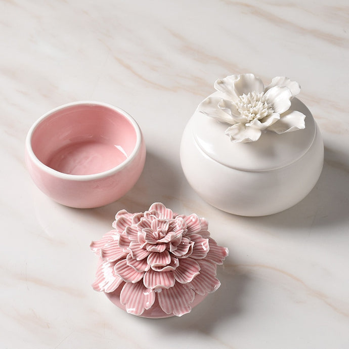 In Bloom Ceramic Jewelry Box