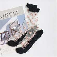 Load image into Gallery viewer, In Bloom Embellished Socks