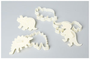Dino-Mite 3D Cookie Cutters (3 pcs)