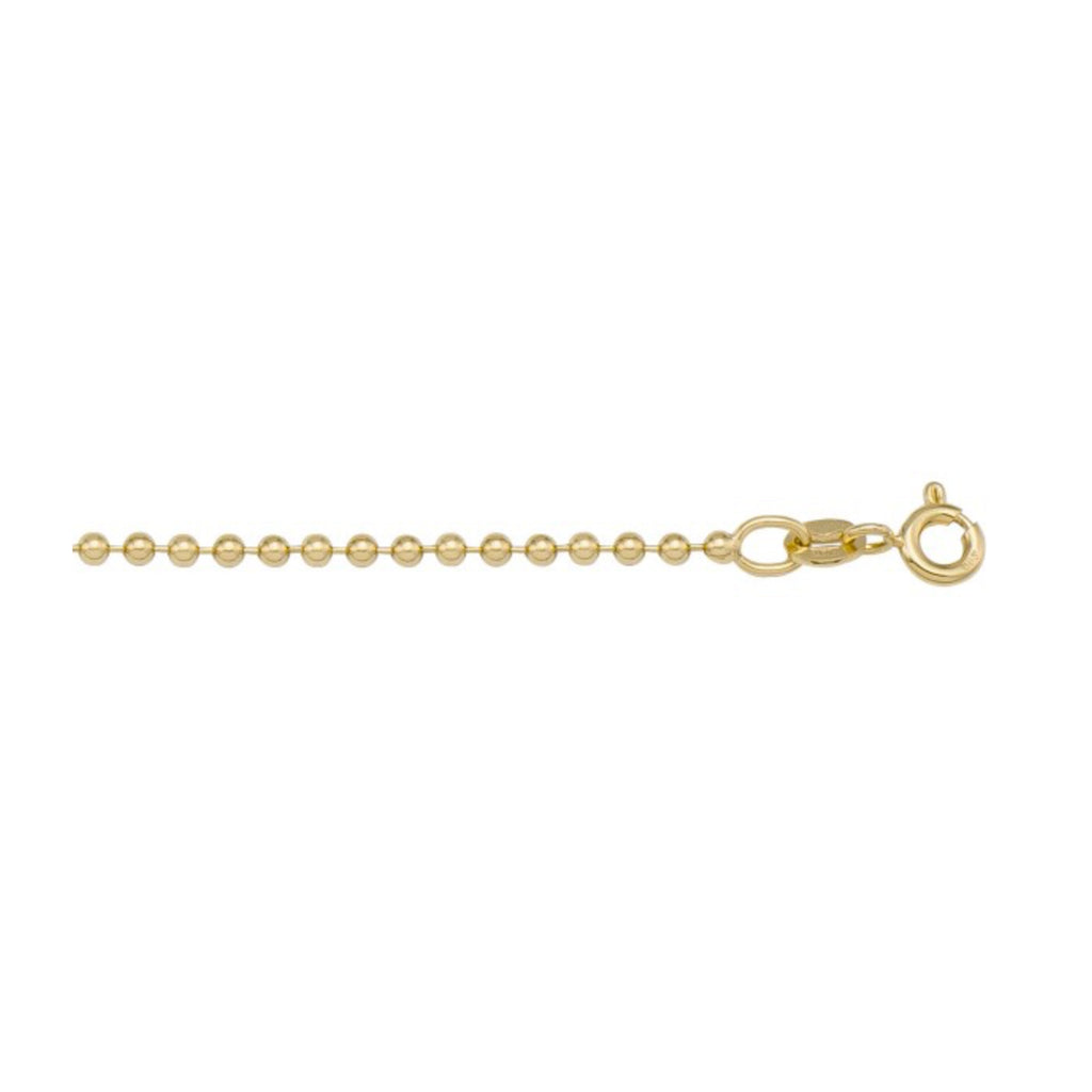 ball chain (14K Gold) - briar de wolfe