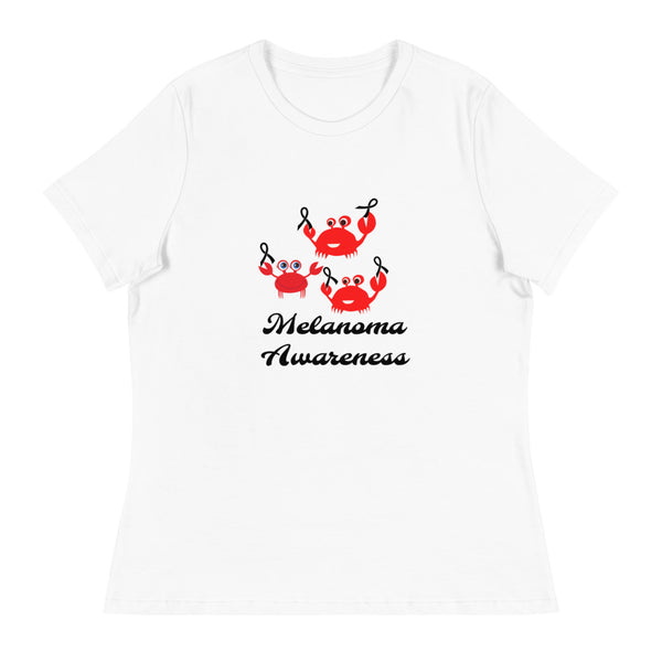 Melanoma Awareness Women's Relaxed T-Shirt