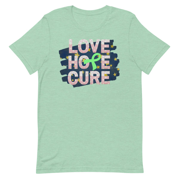 Lyme disease Awareness, Lyme disease Awareness Top, Lime Green Awareness Ribbon Gifts, Unique Gift Ideas, Holiday Gift Guide, Awareness Gifts