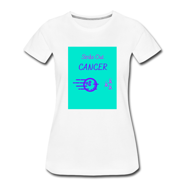 Cancer Awareness Shirt - white