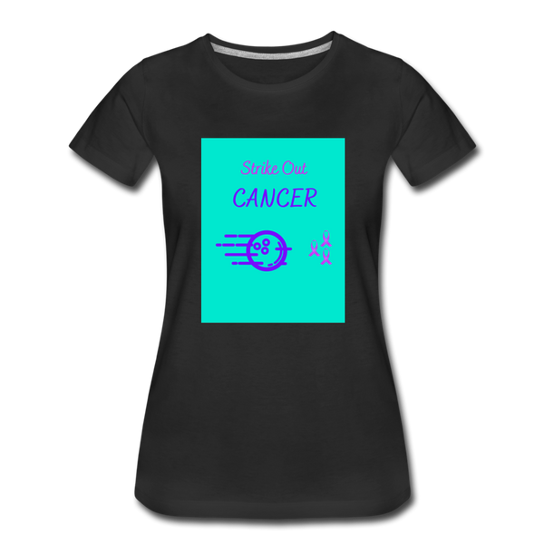 Cancer Awareness Shirt - black