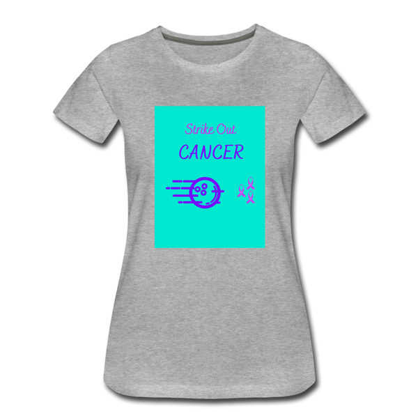 Cancer Awareness Shirt - heather gray