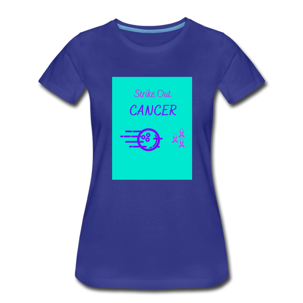 Cancer Awareness Shirt - royal blue