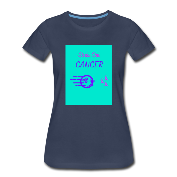 Cancer Awareness Shirt - navy