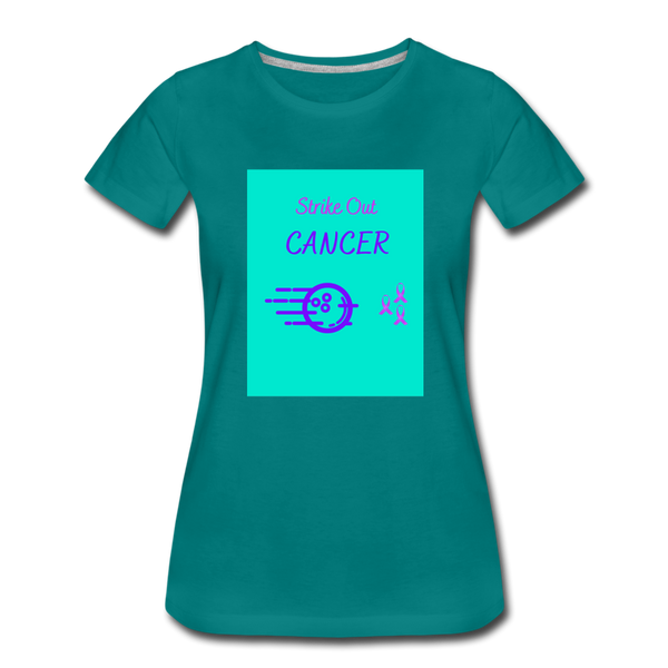 Cancer Awareness Shirt - teal