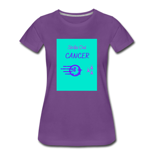 Cancer Awareness Shirt - purple