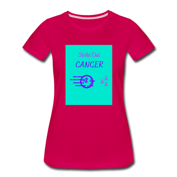 Cancer Awareness Shirt - dark pink