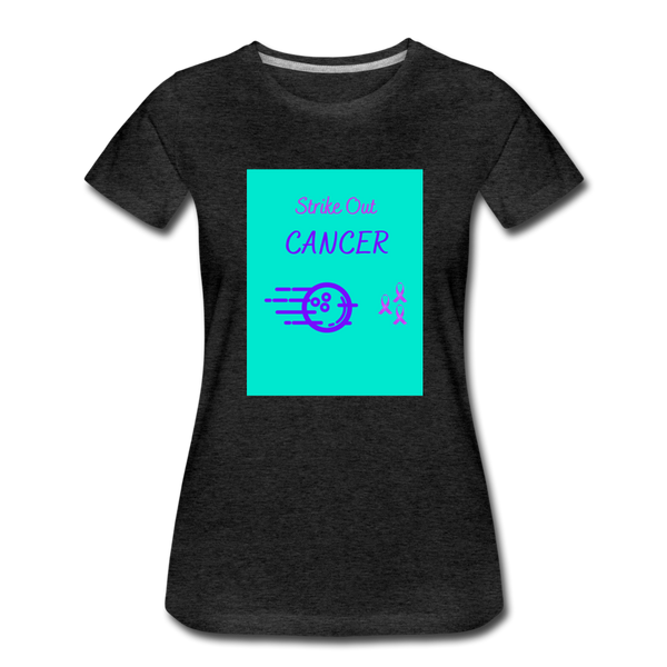 Cancer Awareness Shirt - charcoal gray