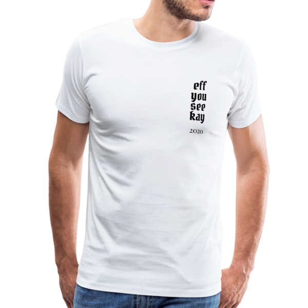 Men's Graphic T-Shirt - white