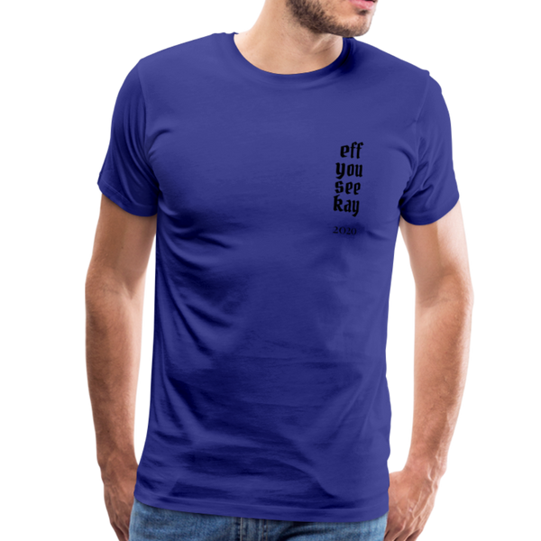 Men's Graphic T-Shirt - royal blue