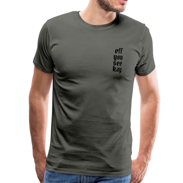 Men's Graphic T-Shirt - asphalt gray