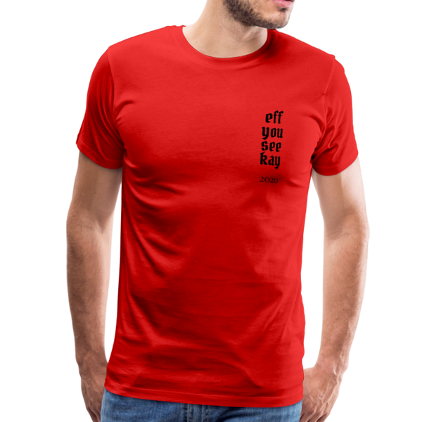 Men's Graphic T-Shirt - red