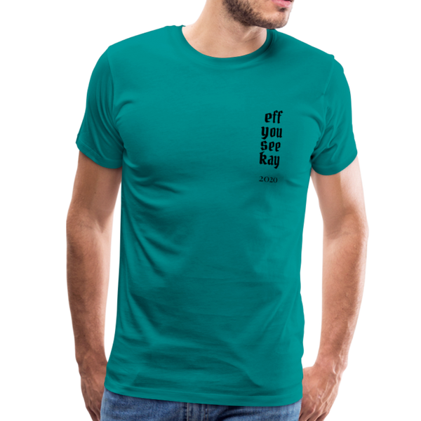 Men's Graphic T-Shirt - teal